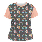 Unicorns Women's Crew T-Shirt (Personalized)
