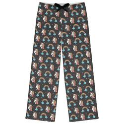 Unicorns Womens Pajama Pants (Personalized)