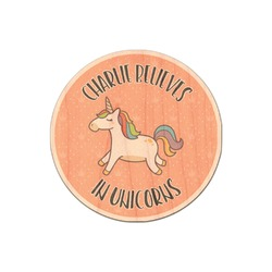 Unicorns Genuine Wood Sticker (Personalized)
