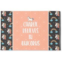 Unicorns Woven Mat (Personalized)