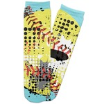 Softball Adult Crew Socks (Personalized)