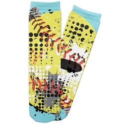 Softball Adult Crew Socks (Personalized)