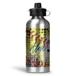 Softball Water Bottle - Aluminum - 20 oz (Personalized)