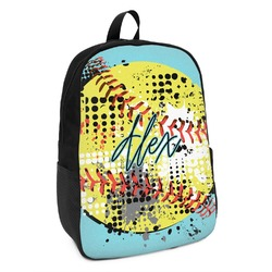 Softball Kids Backpack (Personalized)