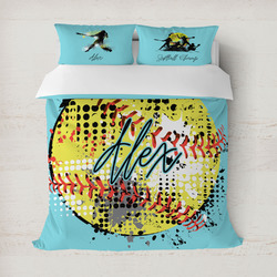 Softball Duvet Covers (Personalized)