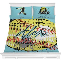Softball Comforter Set (Personalized)