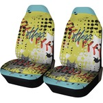 Softball Car Seat Covers (Set of Two) (Personalized)