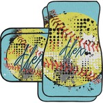 Softball Car Floor Mats (Personalized)