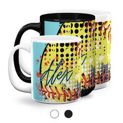 Softball Coffee Mugs (Personalized)