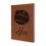 Softball Leatherette Journal (Personalized)