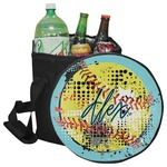 Softball Collapsible Cooler & Seat (Personalized)