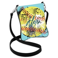 Softball Cross Body Bag - 2 Sizes (Personalized)