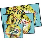 Softball Door Mat (Personalized)
