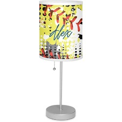 "Softball 7"" Drum Lamp with Shade (Personalized)"