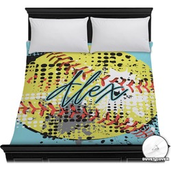 Softball Duvet Cover (Personalized)