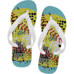 Softball Flip Flops (Personalized)