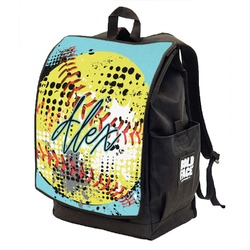 Softball Backpack w/ Front Flap  (Personalized)