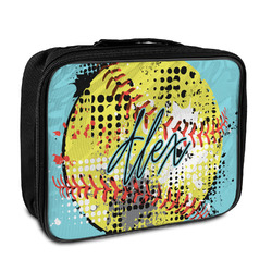 Softball Insulated Lunch Bag (Personalized)
