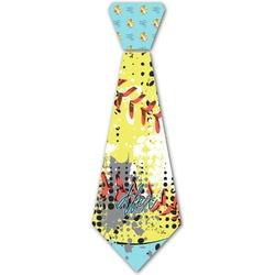Softball Iron On Tie (Personalized)