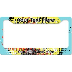 Softball License Plate Frame (Personalized)