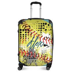 "Softball Suitcase - 24""Medium - Checked (Personalized)"