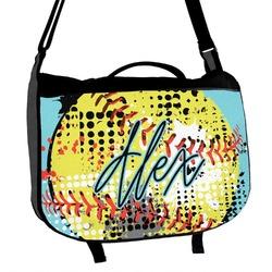 Softball Messenger Bag (Personalized)