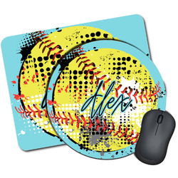 Softball Mouse Pads (Personalized)
