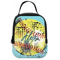 Softball Neoprene Lunch Tote (Personalized)