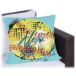 Softball Outdoor Pillow (Personalized)