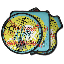 Softball Iron on Patches (Personalized)