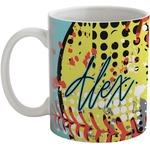 Softball Coffee Mug (Personalized)