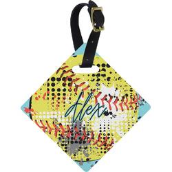 Softball Diamond Luggage Tag (Personalized)