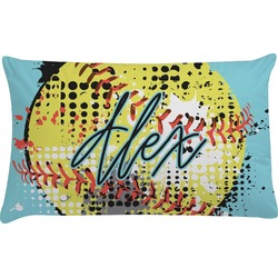 Softball Pillow Case (Personalized)