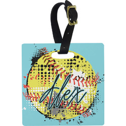 Softball Luggage Tags (Personalized)