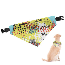 Softball Dog Bandana - Large (Personalized)