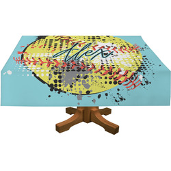 Softball Tablecloth (Personalized)