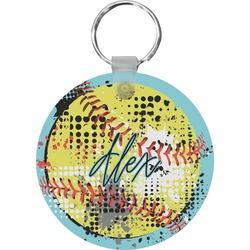 Softball Keychains - FRP (Personalized)