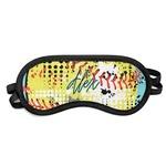 Softball Sleeping Eye Mask (Personalized)