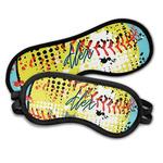 Softball Sleeping Eye Masks (Personalized)