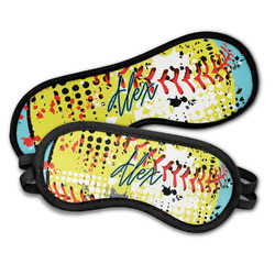 Softball Sleeping Eye Masks (Personalized)