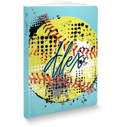 Softball Softbound Notebook (Personalized)