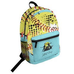 Softball Student Backpack (Personalized)