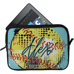 Softball Tablet Case / Sleeve (Personalized)