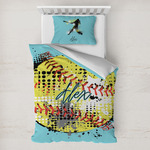 Softball Toddler Bedding w/ Name or Text