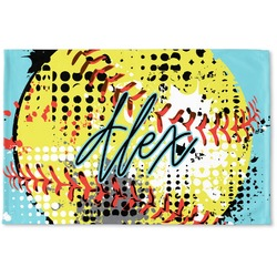Softball Woven Mat (Personalized)