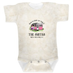 Camper Baby Bodysuit (Personalized)