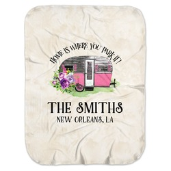 Camper Baby Swaddling Blanket (Personalized)