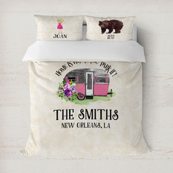 Camper Duvet Cover (Personalized)