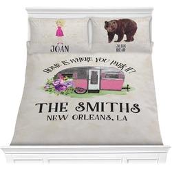 Camper Comforter Set (Personalized)
