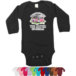 Camper Bodysuit - Long Sleeves - 0-3 months (Personalized)